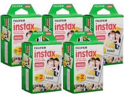 Fujifilm Instax Mini 100 Sheet Film Roll(Yes 800 ISO Pack of 100)
