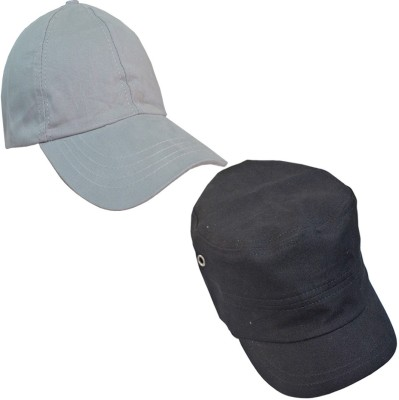 LOOPA Solid caps Cap Pack of 2