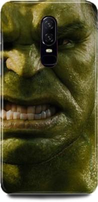 Designer Panda Back Cover for OnePlus 6(Hulk, Angry Hulk, Superheros, Avengers, Half Face Hulk, Screaming Hulk, Plastic) Flipkart