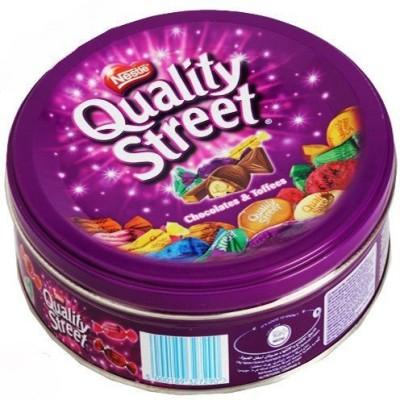 Nestle Quality Street Chocolates & Toffees Tin Box Fudges(480)
