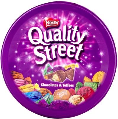 Nestle Quality Street Chocolates & Toffees Tin Box Fudges(240 g)