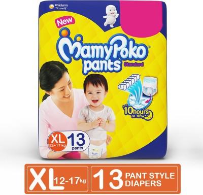 MamyPoko Pants Standard Diapers   XL 13 Pieces MamyPoko Baby Diapers