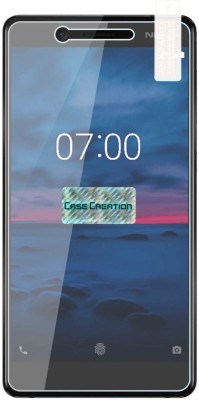 Case Creation Tempered Glass Guard for Nokia 7 Android 2017(Pack of 1)
