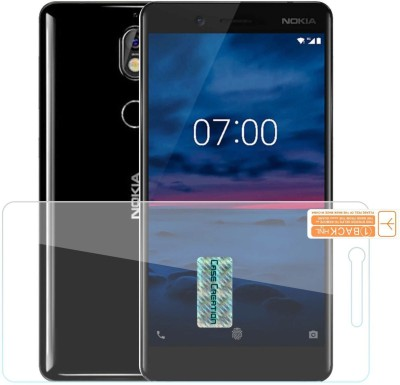 Case Creation Tempered Glass Guard for Nokia 7+ 6.0-inch(Pack of 1)
