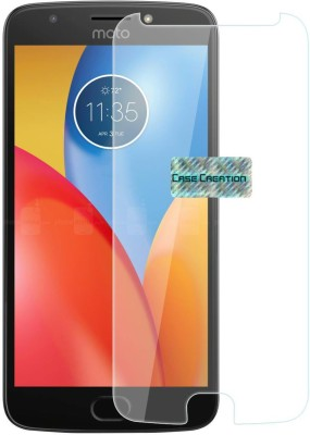 Case Creation Tempered Glass Guard for Motorola Moto E4 Plus(Pack of 1)