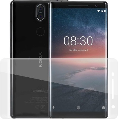 Case Creation Tempered Glass Guard for Nokia 8 Sirocco 2018(Pack of 1)