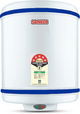 Sameer 6 L Storage Water Geyser (i Flo, Ivory)