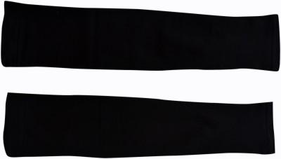 JG FORCEMAN JGAR_001 Nylon, Cotton Arm Warmer(Black)