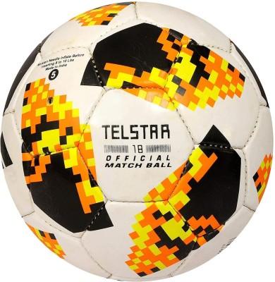 SMT TELSTAR ORANGE Football   Size: 5 Pack of 1, Multicolor