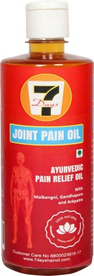 7 DAYS HAIR OIL Joints Pain Relief Oil Liquid(500 ml)