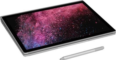 Microsoft Surface Book 2 Core i7 8th Gen - (16 GB/512 GB SSD/Windows 10 Pro/2 GB Graphics) 1832 2 in 1 Laptop(13.5 inch, Silver, 1.64 kg) 1