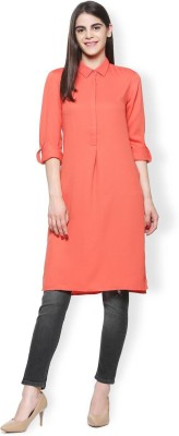 Van Heusen Solid Women Tunic