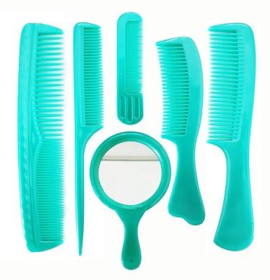 EKAN Comb For Men Hair Stylish, Salon Hair Comb Set For Men And Girls, Sea Green, 35 Grams