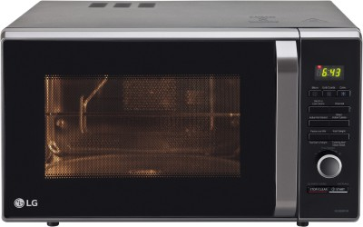 LG 28 L Charcoal Convection Microwave Oven(MJ2886BFUM, Black)