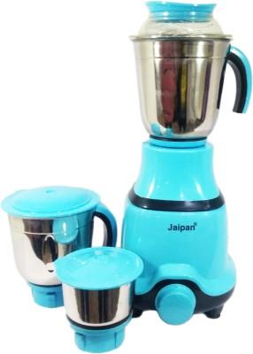 Jaipan Tri Set 550 Mixer Grinder(Blue and Black, 3 Jars)