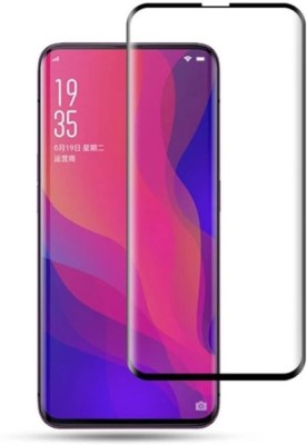 BlackBug Tempered Glass Guard for Oppo Find X (Black) Screen Protector,Screen Guard,(Clear HD) 0.3mm, 2.5D(Pack of 1)