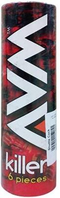 AVM Killer pack of 6 Nylon Shuttle    Multicolor Medium, 77, Pack of 6