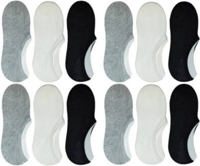 Chartbusters Men & Women Solid Low Cut(Pack of 6)