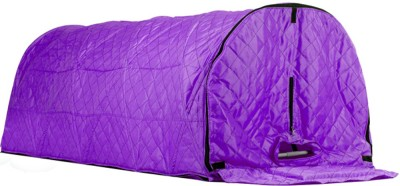 Kawachi I73-Purple Sleeping Posture Portable Steam Cabin for Steam Sauna Bath to treat Old Aged / Paralytic Patients / Disable in Ayurvedic Panchkarma Therapy (without Steam Generator) - I73 Portable Steam Sauna Bath(Purple)