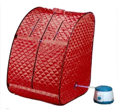 Fasteck Best quality & Stylish Portable Therapeutic Steam Sauna Bath Home Spa Weight Lose Home Cleaning Kit for Men and Women (Made in India) Portable Steam Sauna Bath(Red)