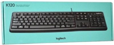 Logitech K 120 Wired USB Desktop Keyboard