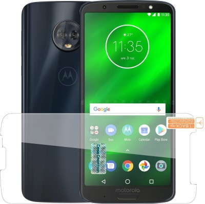 Case Creation Tempered Glass Guard for Motorola Moto G6 Plus(Pack of 1)