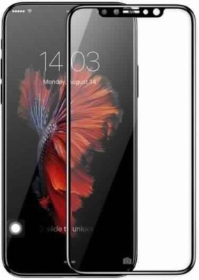 GBKS Tempered Glass Guard for IPHONE X,5D TEMPERED GLASS(Pack of 1)