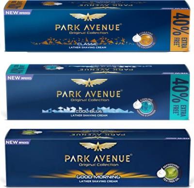 Park Avenue Cool Blue, Good Morning, Classic Shaving Cream(252 ml)