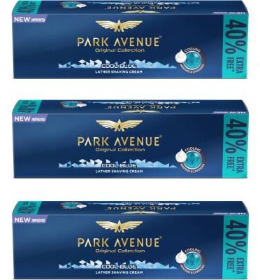 Park Avenue Cool Blue Shaving Cream Pack of 3(84 g)