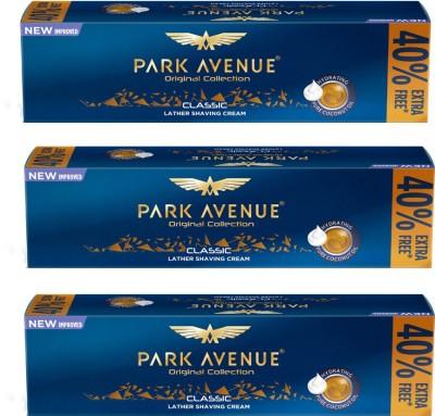 Park Avenue Classic Shaving cream Pack of 3(84 g)