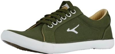 Buy LAKHANI Canvas Shoes For Men(Olive