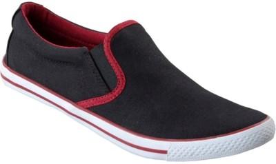 daa7dca3501 Buy LAKHANI Canvas Shoes For Men(Black) on Flipkart