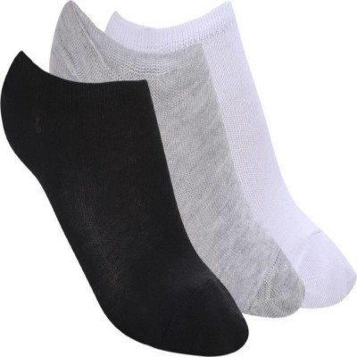 Chartbusters Men & Women Solid Low Cut(Pack of 3)