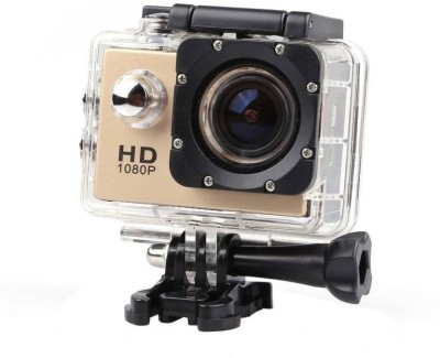 Spark Trading Ultra HD 1080P Sports and Action Camera(Black, Yellow, White 12 MP) 1