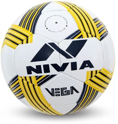 Nivia Vega Football   Size: 5 Pack of 1, White