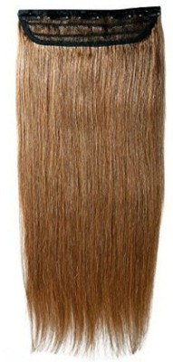 Confidence Remy Human  Extension Used For Girls, Light Brown, 16 Inch, 50 Grams Hair Extension