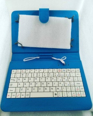 Samsung 7INCH TAB Wired USB Tablet Keyboard(Blue)