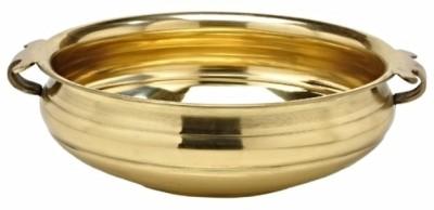 Buyerwell Traditional Uruli / Urli 6 Inch Handi 0.75 L Brass Buyerwell Handis