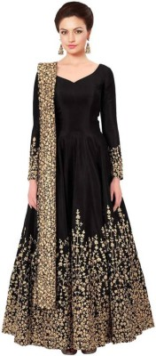 SHIVAAY TEX Women Salwar and Dupatta Set, Gown and Dupatta Set