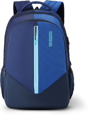 American Tourister Alto Sch Bag 03 31 L Laptop Backpack(Blue)