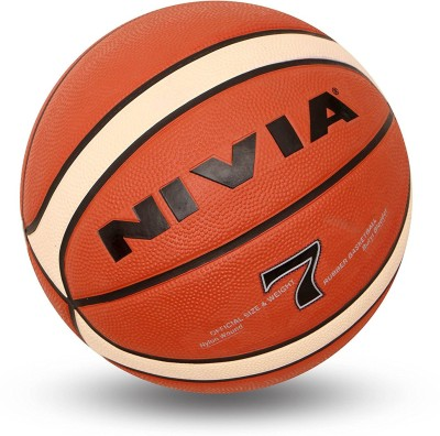 NIVIA Engraver 7 Basketball   Size: 7 Pack of 1, Red NIVIA Basketballs
