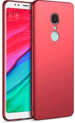 GadgetM Back Cover for Mi Redmi Note 5 Red, Plastic