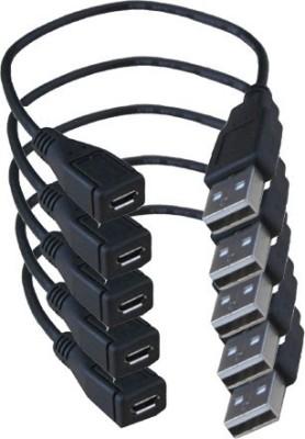 Geenie Micro USB OTG Adapter(Pack of 5)