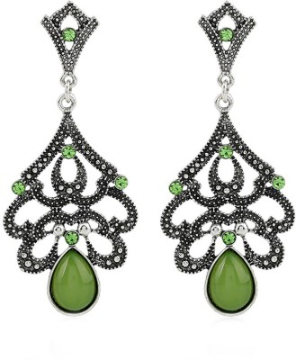 Remanika Tribal Vintage Alloy, Resin Drops & Danglers at flipkart