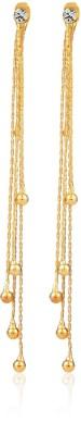 Remanika Thread Hangings Cubic Zirconia Alloy Chandelier Earring