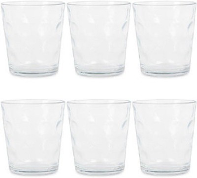 Treo D Ziner Torrent Glass Set(Glass, 210 ml, Multicolor, Pack of 2)