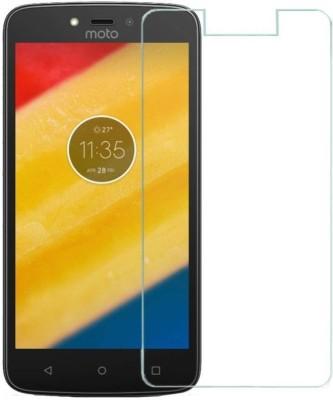 S Softline Tempered Glass Guard for Motorola Moto C Plus Pack of 1