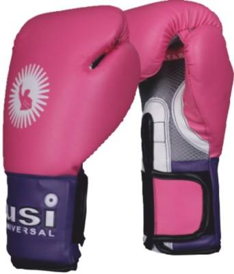 USI Crusher Training Boxing Gloves 10oz Boxing Gloves Pink/Purple
