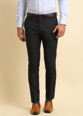 Arrow New York jakov Slim Fit Men's Black Trousers