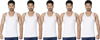 AMUL MACHO Men Vest(Pack of 5) at flipkart